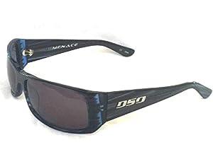 "DSO Eyewear ""MENACE"" Black/Blue Steark - Smoke Lens"