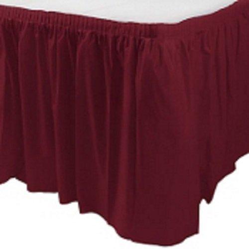 Berry Plastic Table Skirt 29