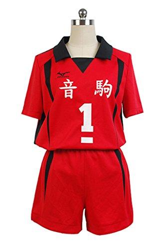 Goodcosplay Haikyuu!Nekoma Uniform Kenma Kozume Volleyball Jersey #1 Cosplay Costume- Buy Online in Cayman Islands at cayman.desertcart.com. ProductId : 28779246.