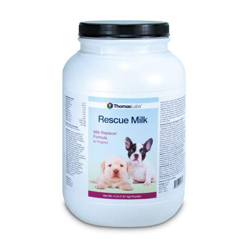 Thomas Labs Rescue Milk for Puppies & Dogs - Puppy Milk Replacer - (Powder, 4 Pounds) by Thomas Labs