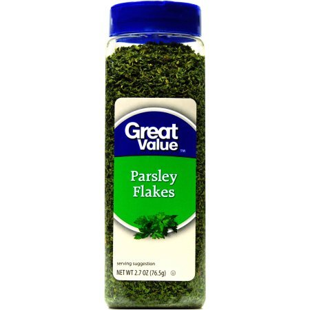 Great Value Spices Parsley Flakes Seasoning, 2.7 oz by Great Value