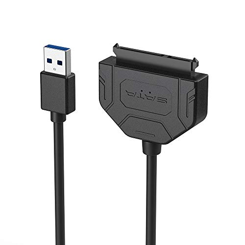 (USB 3.0 to SATA Adapter,usb to sata cable,SATA converter adapter,USB to SATA DVD CD-ROM Drive,2.5 inch hard disk box,support UASP SATA,for Hitachi,Seagate,WD,Toshiba, Fujitsu,Samsung hard drive or SSD)
