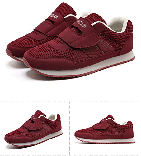 Red Rouge 36 Seaoeey 5 Chaussures Femme de Running Uqxn7Zw1