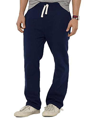 Polo Ralph Lauren Men's Classic Fleece Drawstring Pants (X-Large, Cruise Navy)