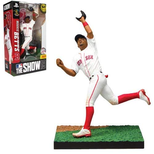 MLB The Show 19 Mookie Betts Action Figure (Figures Action Baseball)