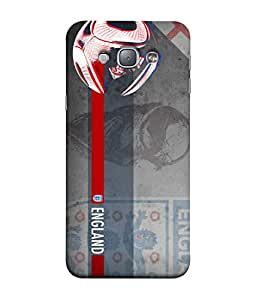 ColorKing Football England 14 Grey shell case cover for Samsung A8