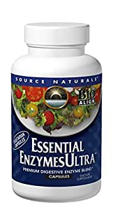 Source Naturals Essential Enzymes Ultra, 120 Capsules