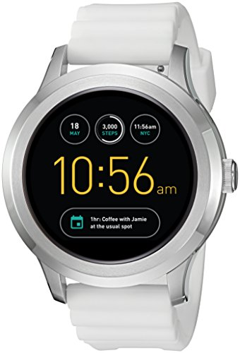 Fossil Q Founder Gen 2 White Silicone Touchscreen Smartwatch FTW2115 by Fossil