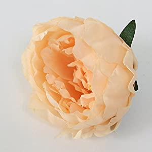FYYDNZA Artificial Decorative Peony Flower Heads Simulation Diy Silk Flower For Wedding Home Party Hotel Decor,D 66