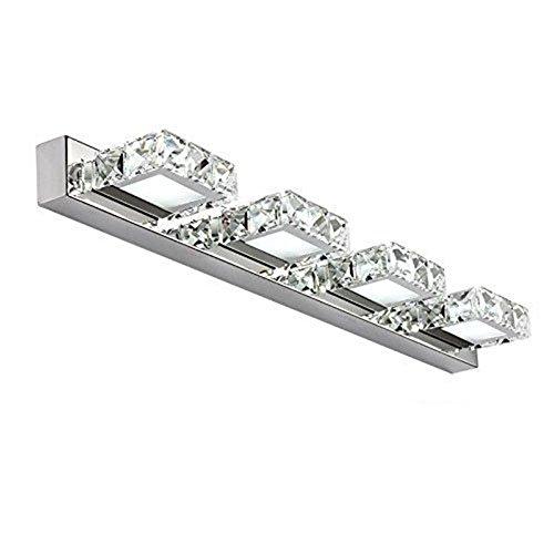 Espejo De Baño Lámpara De Pared Moderno LED Espejo De Cristal Faros Luces De Vanidad Accesorio De Iluminación Para Cuarto...