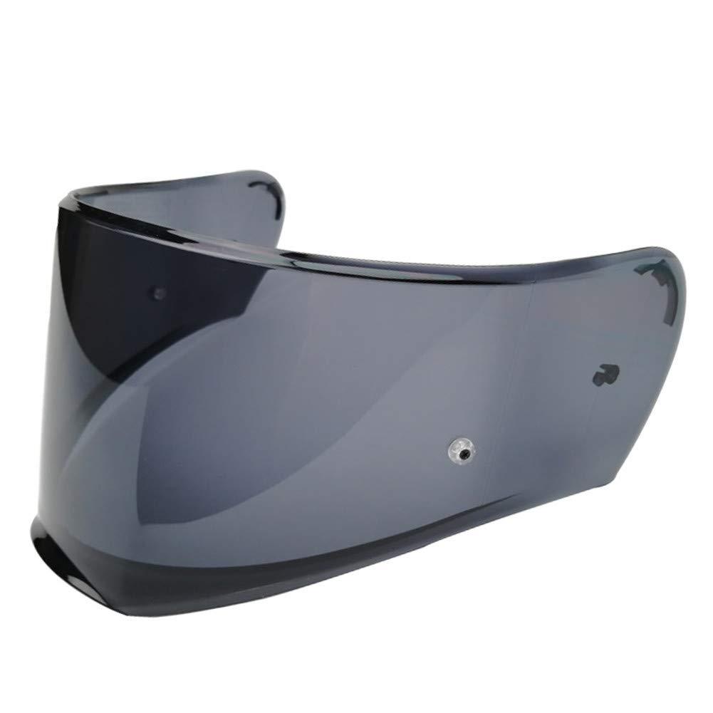 Smoke LS2 FF390 Breaker Helm Kratzfestes Visier Pinlock Ready Verspiegelt