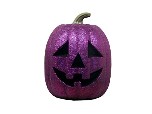 Glittery Halloween Pumpkin (Purple Pumpkin) -