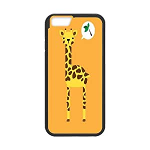 Best Quality [LILYALEX PHONE CASE] Giraffe Pattern For Apple Iphone 6 Plus 5.5 inch screenCASE-13