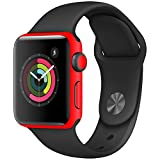 Skin For Apple Watch Series 2 42mm – Solid Red |...