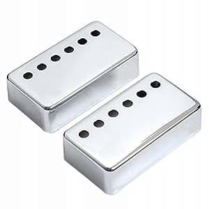 luoem Guitarra pastilla cromo para Gibson Guitarra eléctrica