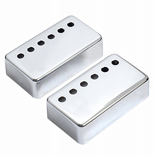 Guitar Pickup Covers Chrome for Gibson Electric Guitar 2pcs