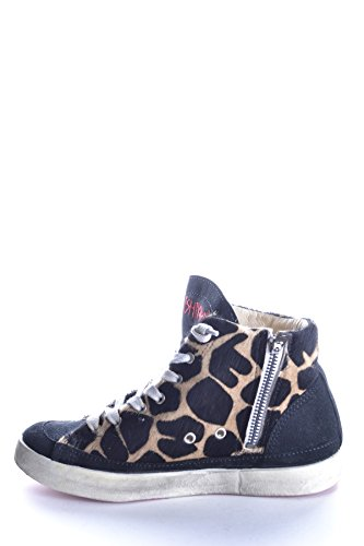 Ishikawa Hi Top Sneakers Donna Mcbi156018o Tessuto Multicolor