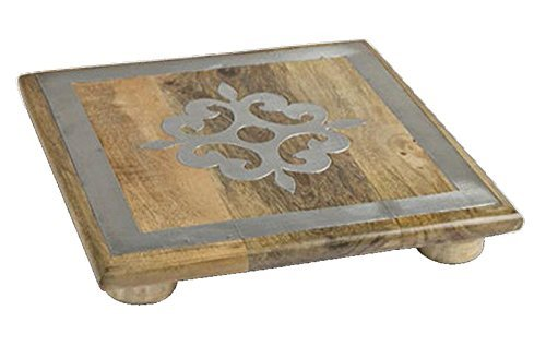 Wood Trivet by GG Collection