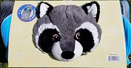 Hugfun Animal Slumber Bag (Grey Racoon)