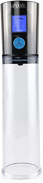 Fistsunbook Automatic Electric Pe~n~is Vacuum Suction Male Pump Enlarger Enhancer Enlargement - Vibrant Toy Fistsunbook