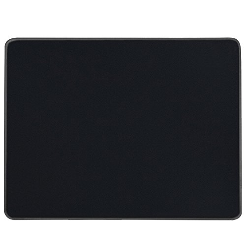 MROCO Gaming Mouse Pad Mouse Mat Large Gaming Mousepad 14.17 x 11 x 0.12inch with Stitched Edges XL Waterproof Mice Pad Non-Slip for PICTEK SteelSeries VicTsing Logitech Razer Mouse Black
