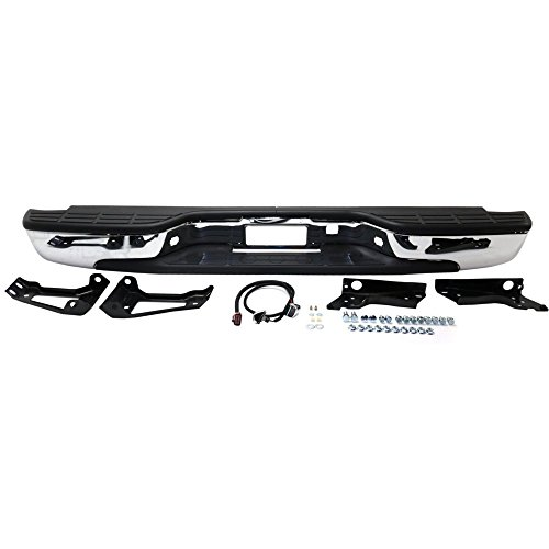 Rear Step Bumper for Chevrolet Silverado/Sierra 1500/2500 for sale  Delivered anywhere in USA
