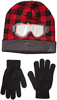 Amazon Brand - Spotted Zebra Boys Hat Scarf Mittens Gloves Cold Weather Accessories Sets