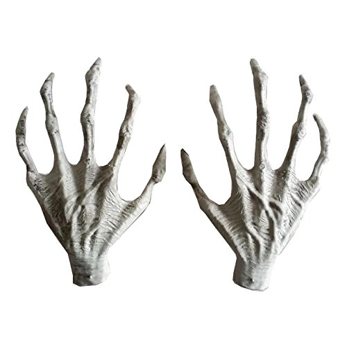 Plastic Skeleton Hands Witch Hands Haunted House Escape horror props Decorations