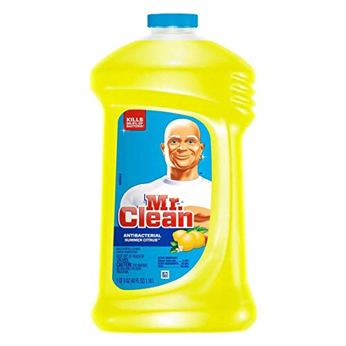 (Mr. Clean M. Net Summer Citrus Scent, Febreze Freshness Multi Purpose Cleaner 40 Fl. Oz, Pack of 2)