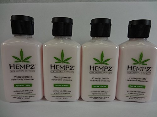 Hempz Pomegranate Herbal Moisturizer Travel