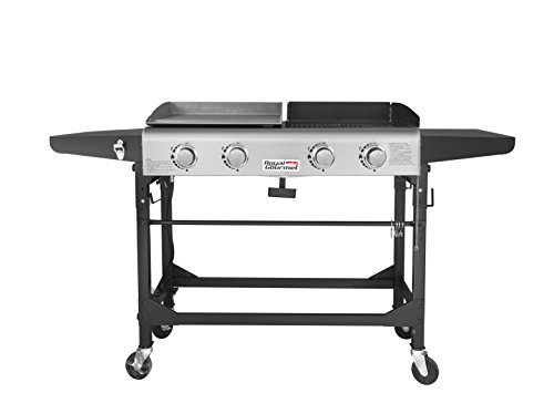 Gas Griddle Table ~ Royal gourmet propane gas grill and griddle combo burner