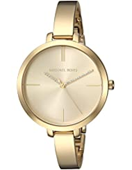 Michael Kors Womens Jaryn Quartz Stainless Steel Casual Watch, Color:Gold-Toned (Model: MK3734)