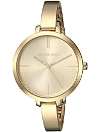 Michael Kors Women's 'Jaryn' Quartz Stainless Steel Casual Watch, Color:Gold-Toned (Model: MK3734)