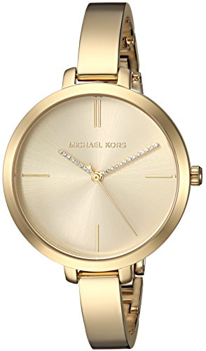 Michael Kors Women's 'Jaryn' Quartz Stainless Steel Casual Watch, Color:Gold-Toned (Model: MK3734) by Michael Kors
