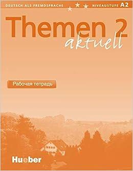 Themen Aktuell 2 Deutsch Als Fremdsprache Arbeitsbuch Russisch