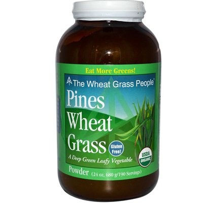 Pines Organic Wheat Grass Powder, 24 Ounce (Pines Grass Wheat Powder)