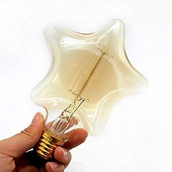 Weihnachtsbeleuchtung Glühlampen.Elektroinstallation Glow Glühlampen Hören Sie Art Birne E27