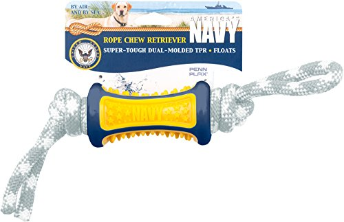 Penn Plax Officially Licensed America's Navy: Rope Chew - Dog Toy