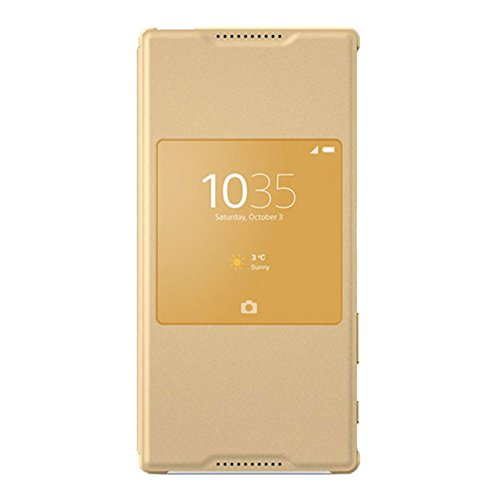 Sony Window Cover Case SCR42 For Sony Xperia Z5 - Gold