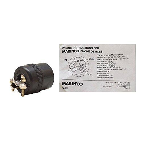 Marinco PH6624 Marine Phone Connector ()