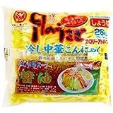 月のうさぎ 冷し中華 こんにゃく 醤油味だれ付 170g 48食セット(24入×2)