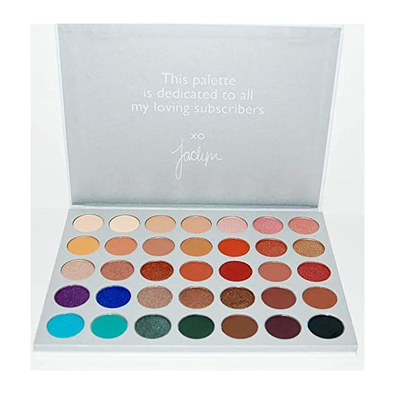 URBANMAC Eyeshadow Palette Cosmetic Powder Makeup (35 Colours)