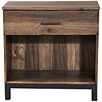 Origins by Alpine 3500-02 Weston, 1 Drawer, Rustic Pine