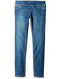 Girls' 5 Pocket Classic Pull on Skinny Jean,