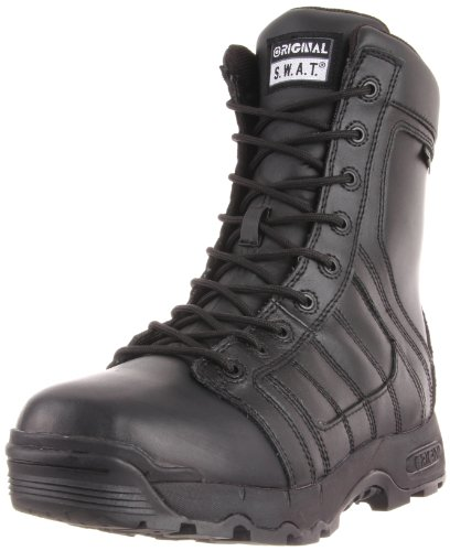 Original S.W.A.T. Mens Metro Air 9-Inch Waterproof Side-Zip Tactical Boot Black W7VVqxoYJ