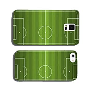 Realistic Vector Football - Soccer Field cell phone cover case Samsung S6