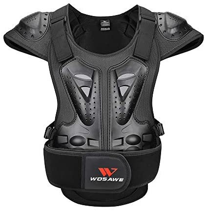 Off Road Bikes Skiing and Motocross Protective Jacket ATV Exxact Sports Motorcycle Full Upper Body Protection Medium