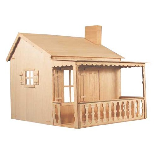 Corona Dollhouse Kit (Dollhouse Miniature The Adams Dollhouse)