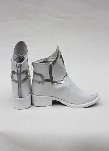 Sao Zwaard Art Online Anime Asuna Yuuki Cosplay Schoenen Witte Laarzen Op Maat Gemaakt