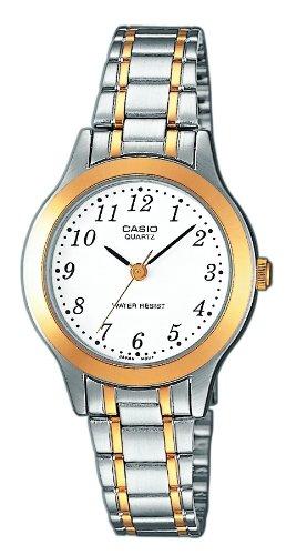 Casio LTP-1263G-7BEF - Reloj (Reloj de pulsera, Latón, Acero